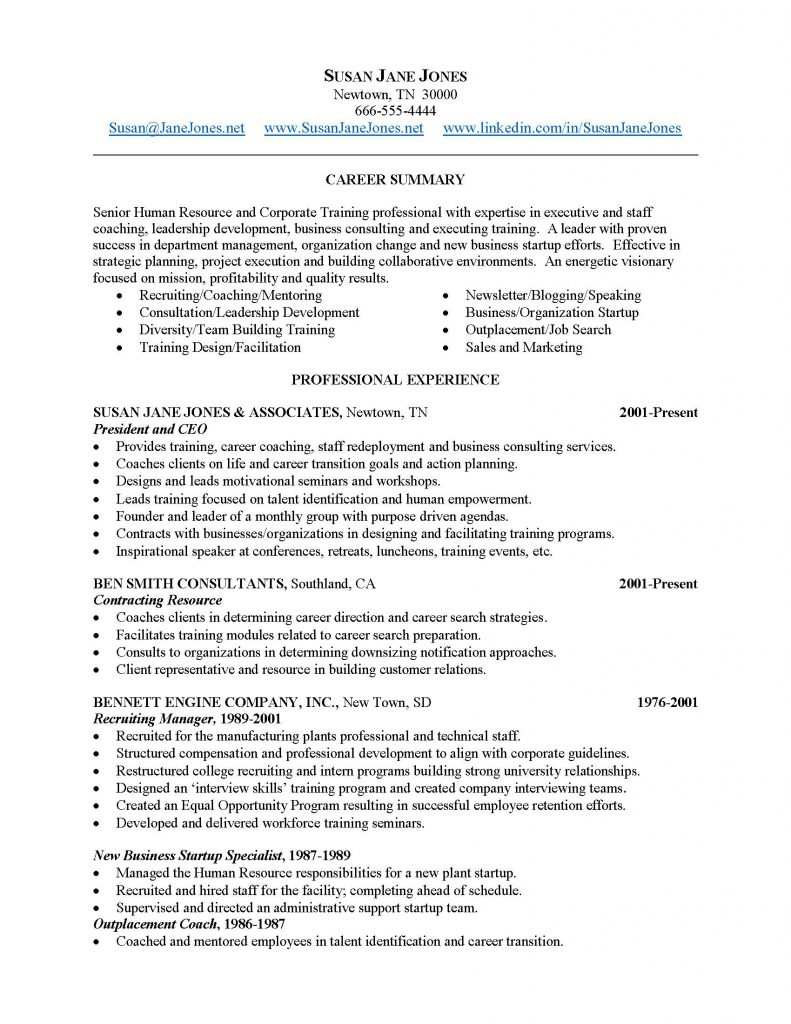 Resume-Sample-2_Page_1-791x1024 Resume Format For Coaching on accomplishments examples, example couselng, helping edit, career objective examples for, line supervisor, objective for head, duties for, words for, good skills have, examples personal corporate,